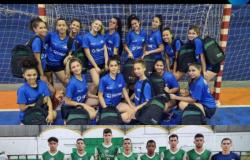 Equipes de handebol de Sorriso participam do Brasileiro fase Centro-oeste