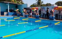 Seletiva de natação em Sorriso define escolas que participarão da etapa estadual dos Jogos Escolares
