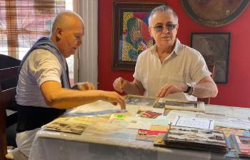 Irmãos Calhao são homenageados mestres da cultura mato-grossense