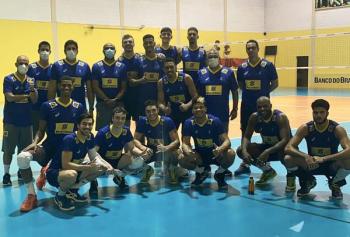 SELEÇÕES: Brasil sub-21 conclui treino em conjunto com o Fiat Gerdau Minas antes do Mundial