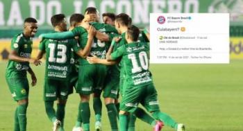 COM MORAL - Sensação no Brasileirão, Cuiabá vira Cuiabayern e é comparado a potência do futebol mundial