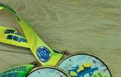 Carateca altaflorestense conquista dois bronzes na Copa do Brasil