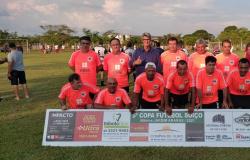 Vereador Tuti parabeniza início da Copa Cinquentinha e garante apoio a competição