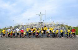 1° Passeio de ciclístico sobre conscientização ao Setembro Amarelo