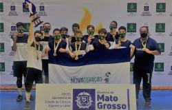 Definidas equipes campeãs de basquete e vôlei nos Jogos Escolares Mato-grossenses
