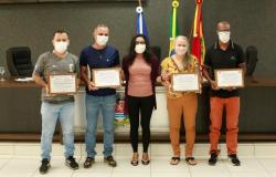 Servidores da Secretaria de Esportes de Alta Floresta são homenageados pelo reforço no enfrentamento à Covid-19