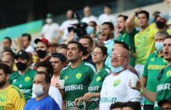No retorno do público, Cuiabá perde para o América-MG