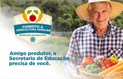 Secretaria de Educação realizará reunião com produtores rurais nesta sexta-feira