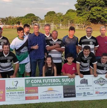 Depois de 12 gols, bola volta a rolar pela Copa 50tinha do Araras