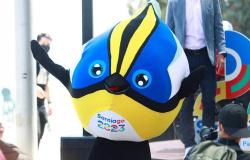 Pan de Santiago 2023 apresenta mascote oficial