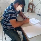 Sintuf-MT faz doação de alimentos a Casa da Mãe Joana