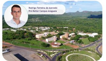 Engenheiro Rodrigo será o novo pró-Retor do Campus Universitário do Araguaia/UFMT