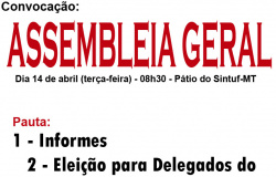 Assembleia Geral - 14.04.15