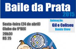 Cartaz - Baile da Prata - 24.04.15