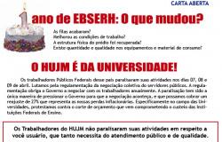 Carta Aberta - Ato no HUJM - 09.04.15