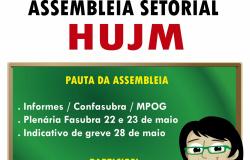 Cartaz assembleia HUJM - 19.05.15
