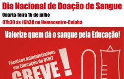 Dia Nacional de Doação de Sangue - 15.07.15