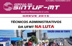Jornal do Sintuf - Linha do Tempo - Greve 2015