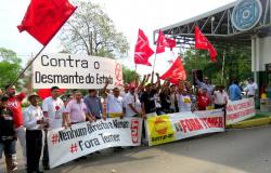 Sintuf agradece aos participantes do Ato Contra o Desmonte do Estado Brasileiro