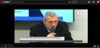 Audiência pública sobre EBSERH no Congresso Nacional
