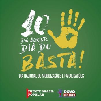 Ofício Paralisação de sexta-feira (10.08) - Dia do Basta