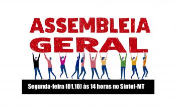 Edital de Convocação de Assembleia Geral - 01-10-18