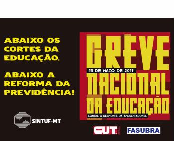 Ofícios comunicando Greve Nacional da Educação à Reitoria da UFMT