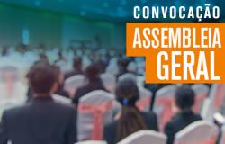Edital de Convocação de Assembleia Geral - dia 27.05.19
