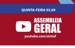 Assembleia Geral on-line do Sintuf será na quinta-feira (03)
