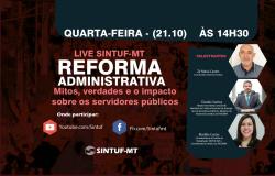 Sintuf convida sociedade para debater mitos e verdades da Reforma Administrativa