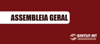 Sintuf convoca assembleia geral nesta terça-feira (01.12)