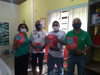 Sintuf convida sindicalizados para receberem lembrancinhas do Natal 2020