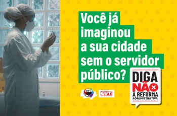 Sintuf-MT apoia campanha publicitária da CUT em defesa do serviço público
