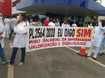 12 de maio: Sintuf apoia luta pelo piso salarial e jornada de 30 horas para enfermagem