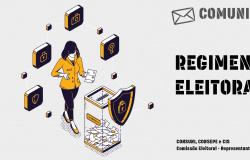 COMUNICADO COMISSÃO ELEITORAL - CONSUNI, CONSEPE E CIS 2021