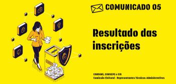 Comunicado 05 da Comissão eleitoral