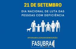 21/9 – Dia Nacional de Luta das pessoas com deficiência