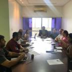 Reunião de diretoria do SESCON/MT trata sobre assuntos relevantes a categoria das Empresas de Serviços Contábeis do Estado do Mato Grosso