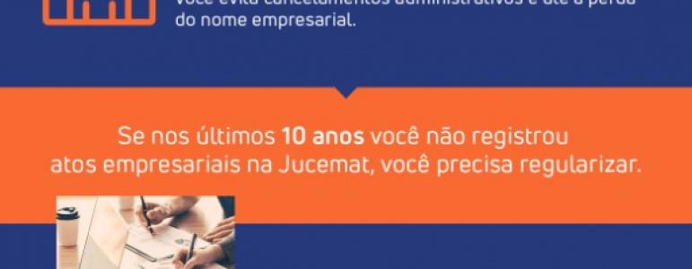 Junta Comercial - Regularize seu CNPJ até 31 de maio.