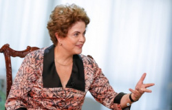 """Vaquinha virtual"" para bancar viagens de Dilma ultrapassa a meta"