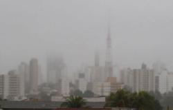 Inpe prevê mais chuvas e frio em Cuiabá