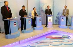 Candidatos evitam confrontos no 2º debate da TV Record