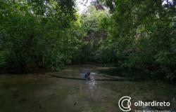 Estudantes do São Gonçalo conhecem as belezas de Nobres como parte de projeto sobre a água
