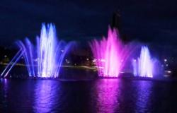 Fonte luminosa do Parque das Águas entra na fase de testes