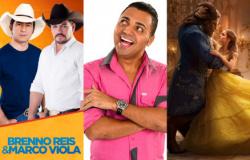 Show sertanejo, stand up e filme são opções na Grande Cuiabá