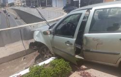 Servidor público fica gravemente ferido após acidente em avenida de Cuiabá