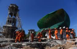 Número de mortos em terremoto na Indonésia passa de 100