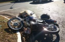 Mais da metade dos acidentes de trânsito registrados em MT em 2018 envolveram motoqueiros