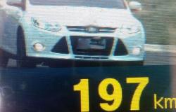 Radar flagra carro circulando a 197 km/h em rodovia e motorista é detido