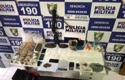 Nove quilos de drogas são apreendidos e seis pessoas presas em Peixoto de Azevedo e Matupá